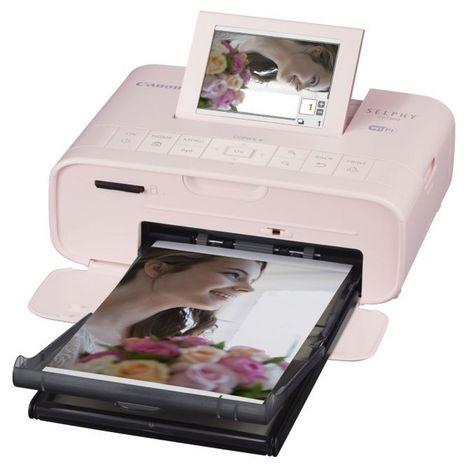 CANON Imprimante photo portable - Rose - Selphy CP1300