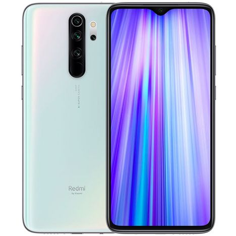 XIAOMI Smartphone Redmi Note 8 Pro 64Go 6.53 pouces Blanc