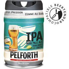 PELFORTH Pelforth Bière blonde du Nord IPA 5,9% fût pression 5l 5l