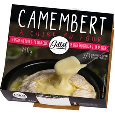GILLOT Gillot camembert à cuire au four 240g