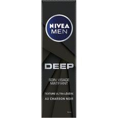 NIVEA MEN Soin visage matifiant au charbon noir 50ml