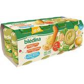 Blédina pot légumes poulet colin semoule dinde 8x200g 6 mois