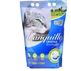 Tranquille Litière silice et biocarnate pour chat 4l
