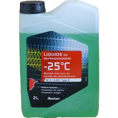 Auchan Liquide de refroidissement -25° 2l