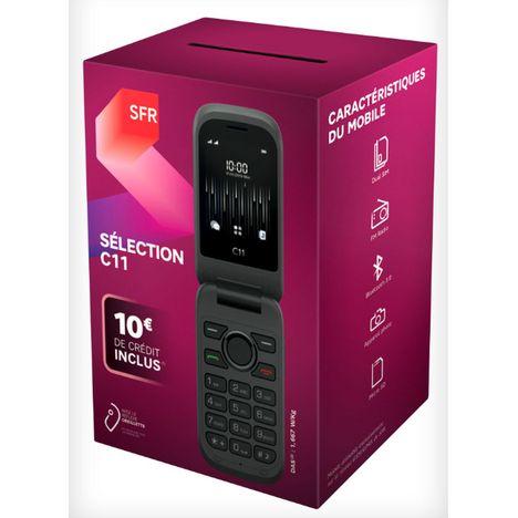 SFR Pack Prépayé SFR avec Mobile Sélection C11 et carte SIM