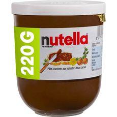 NUTELLA Nutella Pâte à tartiner aux noisettes 220g 220g