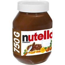 Nutella pâte à tartiner pot 750g