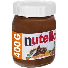 Nutella pâte à tartiner pot 400g