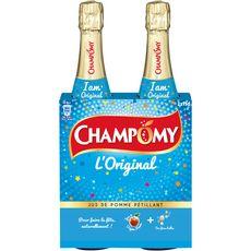 CHAMPOMY Champomy L'Original Jus de pomme pétillant 2x75cl 2x75cl