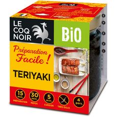LE COQ NOIR Préparation pour teriyaki bio 4 personnes 90g