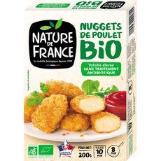 NATURE DE FRANCE Nature de France Nuggets de poulet bio 200g 200g