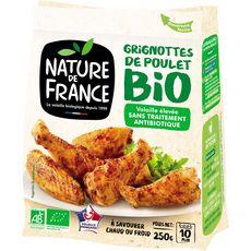 NATURE DE FRANCE Nature de France Grignottes de poulet rôti bio 250g 1 à 2 personnes 250g