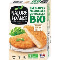 Nature de France Escalope milanaise bio 180g