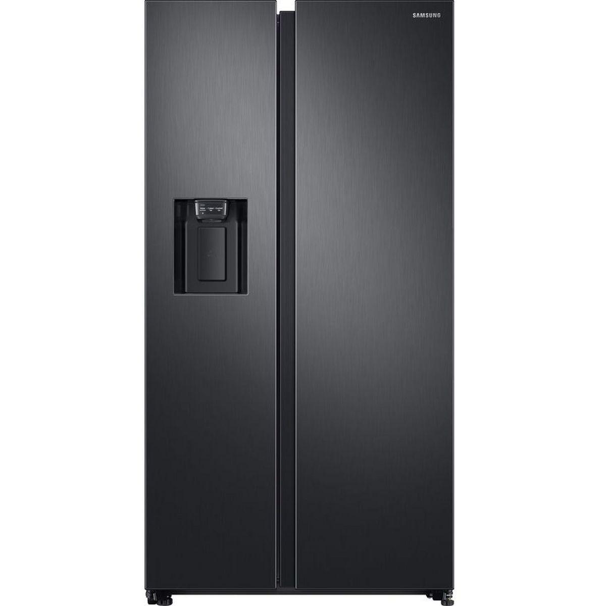Réfrigérateur américain RS68N8340B1, 617 L, Froid ventilé