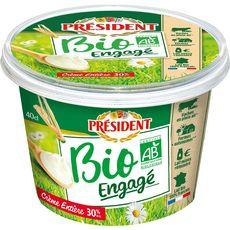 PRESIDENT Crème fraiche entière bio 40cl