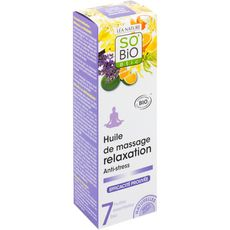 So'Bio étic Huile de massage relaxation anti-stress 100ml