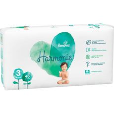 Pampers Harmonie couches taille 3 (6-10kg) x46
