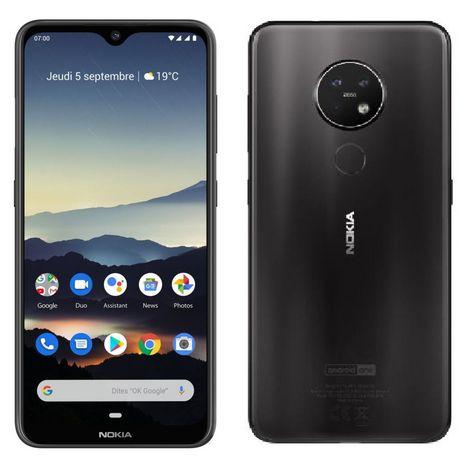 NOKIA Smartphone 7.2  128Go  6.3 pouces  Dual Sim  Gris