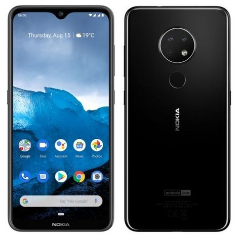 NOKIA Smartphone 6.2  64Go  6.3 pouces  Dual Sim  Noir