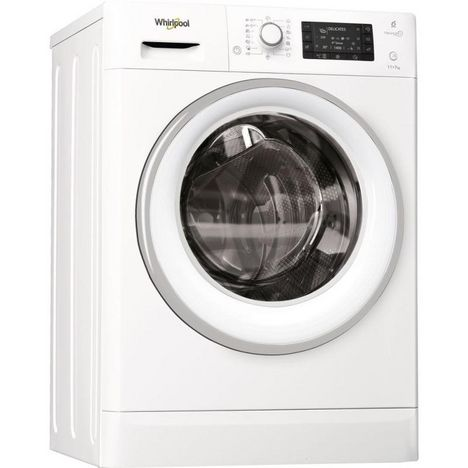 WHIRLPOOL Lave linge séchant hublot FWDD117168WS, 11 kg lavage, 7 kg séchage, 1600 T/min