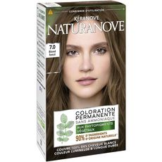 Naturanove Coloration permanente sans ammoniaque 7,0 blond foncé