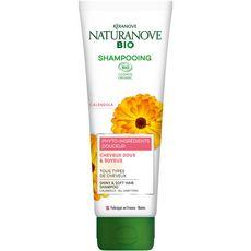 NATURANOVE Shampooing bio doux & soyeux tous types de cheveux 250ml