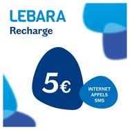LEBARA Carte SIM Prépayée Sans Abonnement