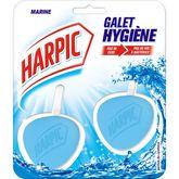Harpic Harpic Blocs WC galet fraîcheur marine x2