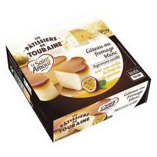 St Amour gâteau au fromage blanc coulis fruits passion 350g