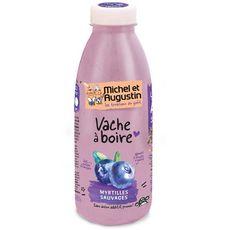 MICHEL ET AUGUSTIN Yaourt à boire à la myrtille sauvage 500ml