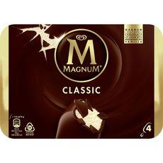 MAGNUM Magnum Bâtonnet glacé à la vanille et au chocolat 316g 4 pièces 316g