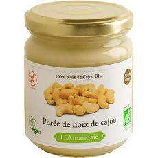 L'AMANDAIE Purée de noix de cajou bio 200g