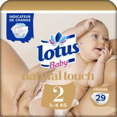 Lotus baby touch change ouvert 3/6kg x29 taille 2
