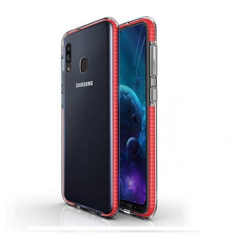 MOXIE Coque pour Samsung A40 - Rouge
