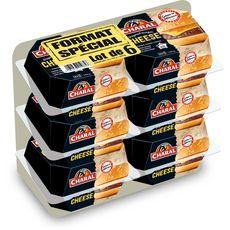 CHARAL Cheeseburger original 6 pièces 870g