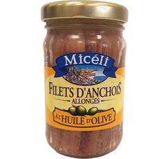 Miceli Anchois à l'huite d'olive 105g