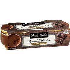 MARIE MORIN Mousse au chocolat à l'ancienne 2x100g