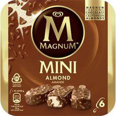 Magnum Mini bâtonnet glacé aux amandes 276g