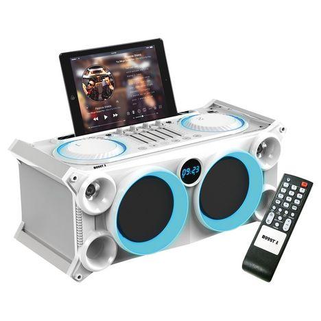 BOOST Enceinte portable Bluetooth INBOX280WH - Blanc
