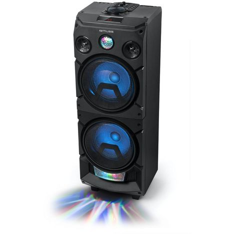 MUSE Enceinte Party Bluetooth - Noir - M-1935 DJ