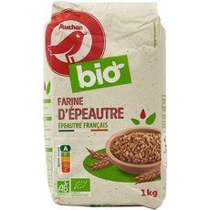 AUCHAN BIO Auchan Bio Farine d'épeautre 1kg 1kg
