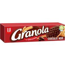 GRANOLA Biscuits sablés nappés de chocolat noir 190g