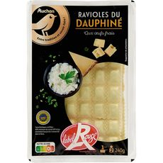 Gourmet AUCHAN GOURMET Ravioles du Dauphiné label rouge