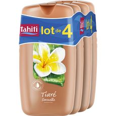 TAHITI Gel douche au tiaré 4x250ml