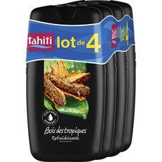 TAHITI Gel douche tropical 4x250ml