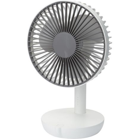 SANEO Ventilateur de table rechargeable 2185 - Blanc