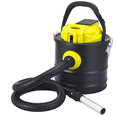 EVATRONIC Aspirateur de cendres 002111 - Noir