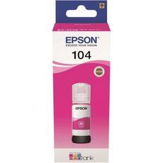 EPSON Cartouche d'encre bouteille Ecotank 104 Magenta