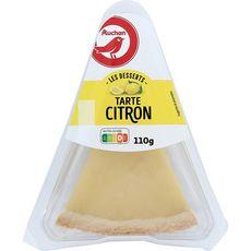 Auchan pause tarte au citron 110g