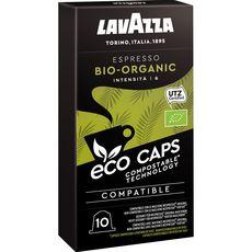 Lavazza Café bio espresso en capsule compatible Nespresso 53g